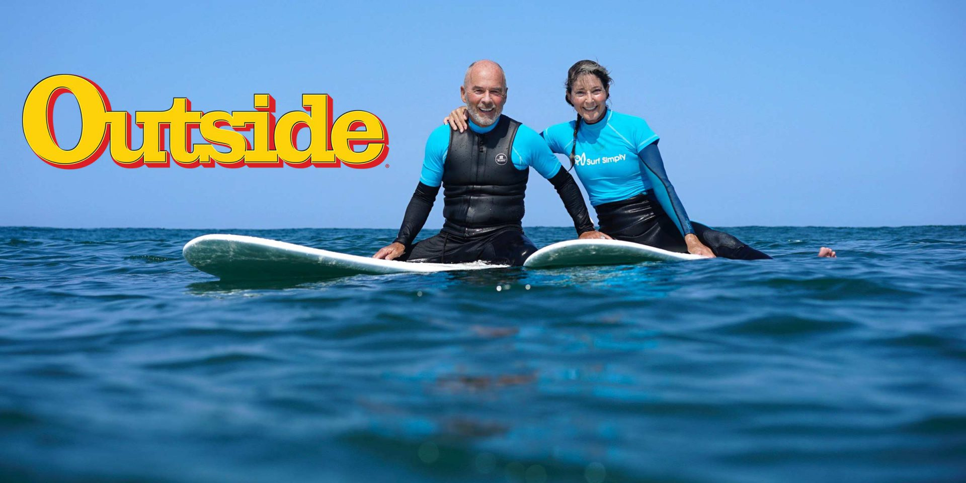 Learning to Surf at Age 73